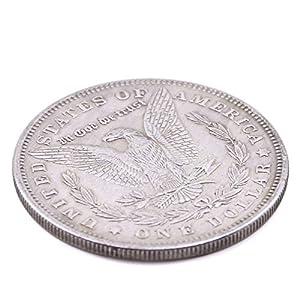 Doowops Morgan Dollar (3.8cm Dia) Magic Tricks Coin Magic Accessories Professional Magician Props