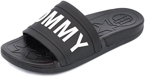 [トミーヒルフィガー] シャワーサンダル twYEVI BLACK MULTI size10 [並行輸入品]