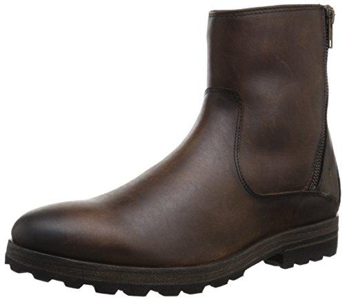 FRYE Men's William Zip Boot - Dark Brown - 8 D(M) US