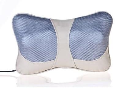 Cuscino Shiatsu Con Massaggio Termico.Cuscino Massaggiatore Massaggio Shiatsu Infrarossi Riscaldante Massage Pillow