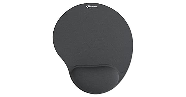 Amazon.com: Innovera Alfombrilla de mouse con gel Wrist Pad ...
