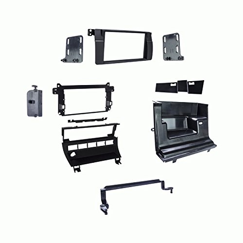 Metra 95-9312B Double DIN Dash Kit For 1999-2006 BMW 3-Series - 5 Switch