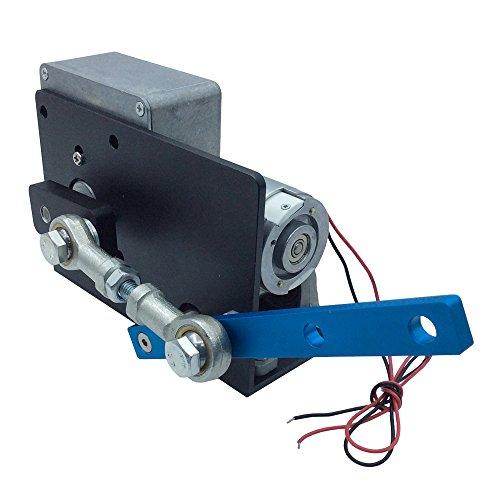 BEMONOC DC 24V Automatic Wobbler Machine Engine Reciprocating Motor 90 degrees Variable for DIY Spraying Lab Testing Craft Phone Exhibition