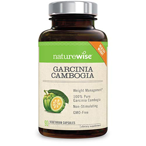 NatureWise Pure Garcinia Cambogia,100% Natural HCA Extract S
