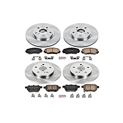 Autospecialty KOE4141 1-Click OE Replacement Brake Kit: Automotive