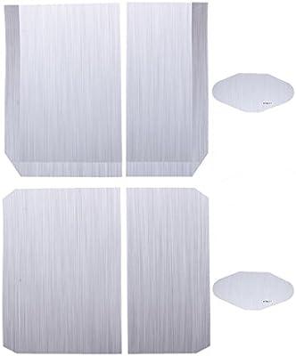 3pcs Pegatinas Protección Consola Antideslizante Accesorio ...
