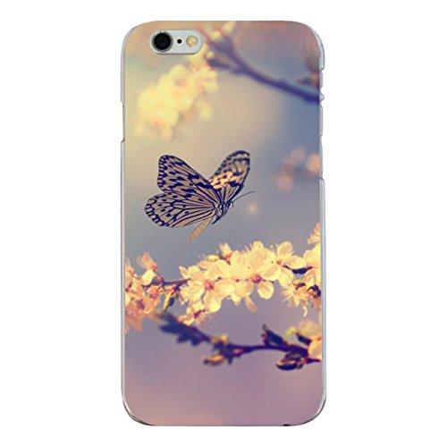 """Disagu Design Case Coque pour Apple iPhone 6 Housse etui coque pochette """"Schmetterling_Kirschblüten"""""""