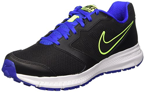 Nike Downshifter 6 Running Shoe Black Racer Blue Volt