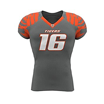Prostyle American Football Warrior Traditional Sleeve Jersey, 30 Unidades Team Set Camiseta de fútbol
