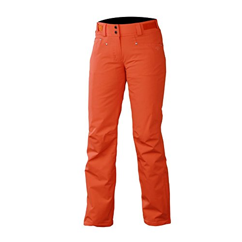 selene womens ski pants 8 flash orange