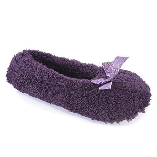 Femme Sandales Purple Glitter Up It Style Bow Compensées nIzwE4xq