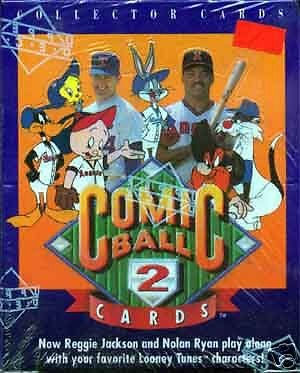 comic-ball-series-2-1991-upper-deck-trading-card-box-looney-tunes