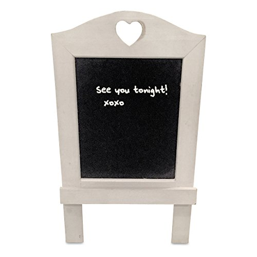 the-rustic-stockbridge-heart-topped-white-wash-chalkboard-sign-easel-back-vintage-style-distressed-s