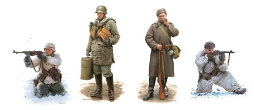 Dragon Models Battle Kharkov Figures