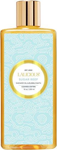 LALICIOUS - Sugar Reef Shower Oil & Bubble Bath - 10 (Shower Oil Collection)