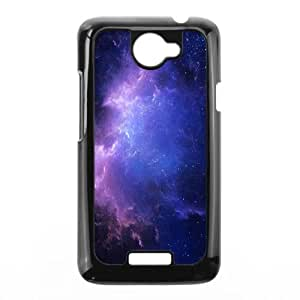 Galaxy Space HTC One X Cell Phone Case Black Ynqvx