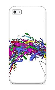 For Iphone 5c Tpu Phone Case Cover(emo)
