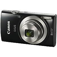 Canon IXUS 185 /Elph 180 Black Digital Compact Camera...