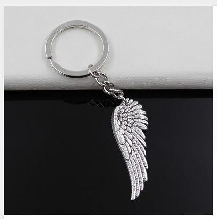 Llavero con alas de ángel: Amazon.es: Oficina y papelería