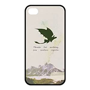 the Case Shop- How To Train Your Dragon Movie TPU Rubber Hard Back Case Silicone Cover Skin for iPhone 4 and iPhone 4S , i4xq-612 by runtopwell