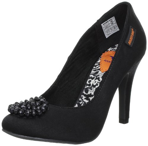 Rocket Dog Ophelia Damen Pumps Schwarz (Noir (Brushed Satin Black))