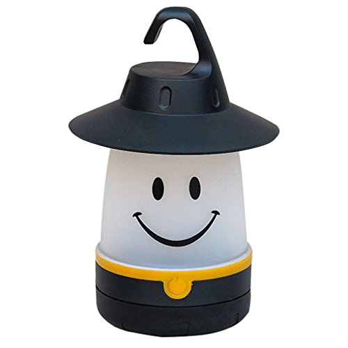 Smile LED Lantern: Portable Night Light Camping Lantern For Kids
