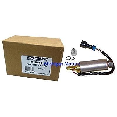 Fuel Pump, low pressure by Mercury/Quicksilver Parts