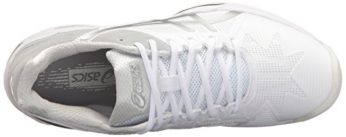 Tennis 3 White ASICS Shoe Speed Women's Gel Solution Silver 0rqI0wX