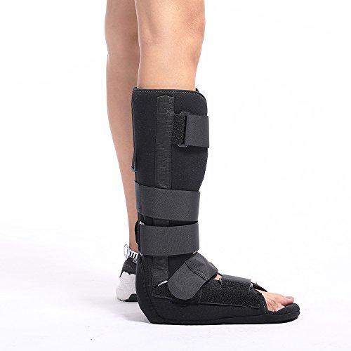 Tibial Fibula Ankle Foot Brace Splint Support Orthosis Night Splint Tibiofibular Tibia Medical Orthopedic Walker Boot External Fixator achilles tendon Tendinitis Plantar Fasciitis Achilles tendon/Calf