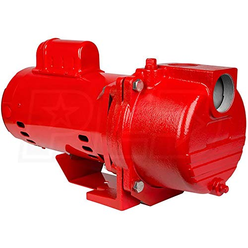 Cast Pump Iron Sprinkler - Red Lion 2 HP 76 GPM Cast Iron Sprinkler Pump