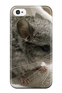 AndrewTeresaCorbitt Snap On Hard Case Cover Baby Chinchilla Protector For Iphone 4/4s