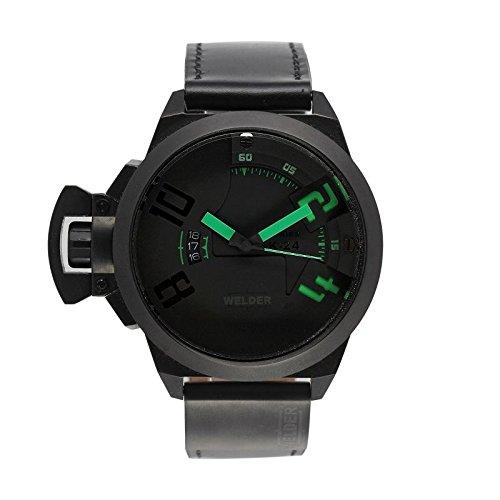 Coffret reloj Welder hombre K-24 modelo Data negra y verde – 3102/1802