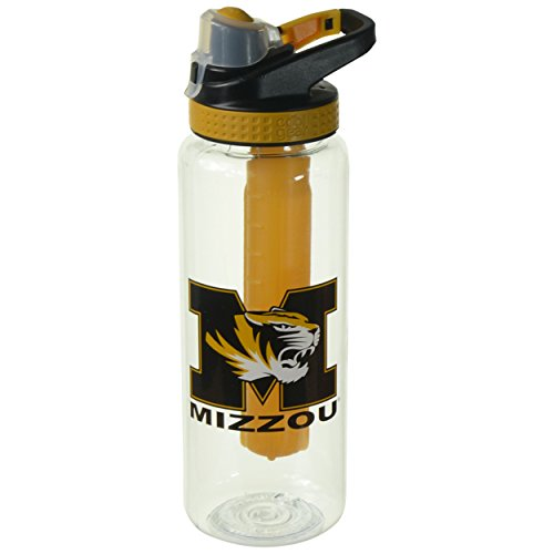 Cool Gear University of Missouri Bottle, 32 oz, Yellow (Missouri Bottle)