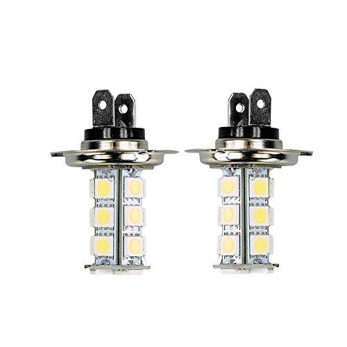 New 18 SMD H7 6000K LED (Xenon White) Light Bulbs(Pack of 2)