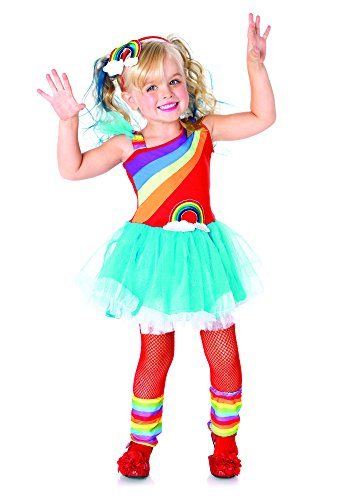 Toddler Costume Bright Rainbow (Leg Avenue Children's Rainbow Doll)