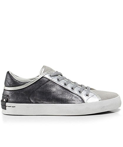en Baskets Crime Chaussures Femme London Gunmetal Faith tRI4wqI
