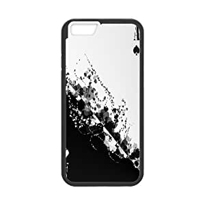 iPhone 6 Plus Case Ace of Spades Cute For Girls, Luxury Case For Iphone 6 Plus Case Jumphigh, {Black}