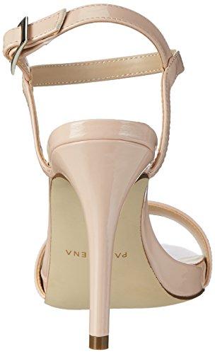 Paco Mena Italia3, Women's Ankle Strap Heel Sandals Pink (Make-up Pink 89)