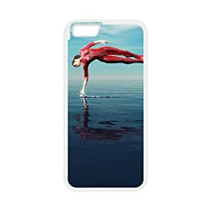 Power Girl iPhone 6 4.7 Inch Cell Phone Case White DIY Present pjz003_6510669