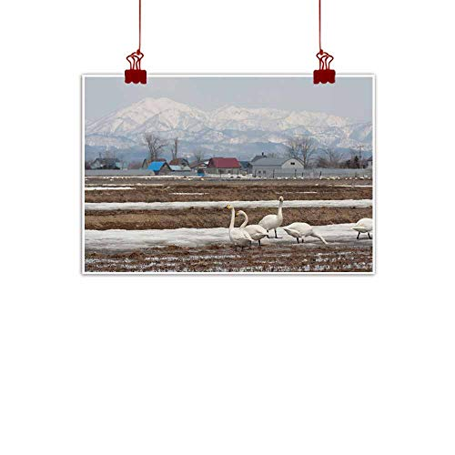 duommhome Chinese Classical Oil Painting Migratory Bird Hokkaido Decorations Home Decor 35