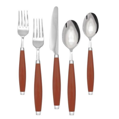 Paprika 5 Piece Place Setting (Homer Laughlin Fork)
