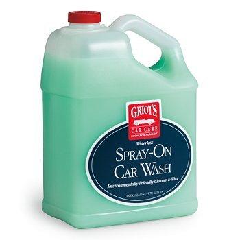 (128oz. Griots Garage Waterless Spray-On Car Wash)