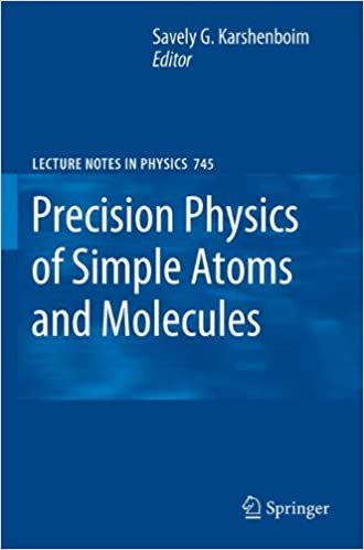 Book Precision Physics of Simple Atoms and Molecules (Lecture Notes in Physics)