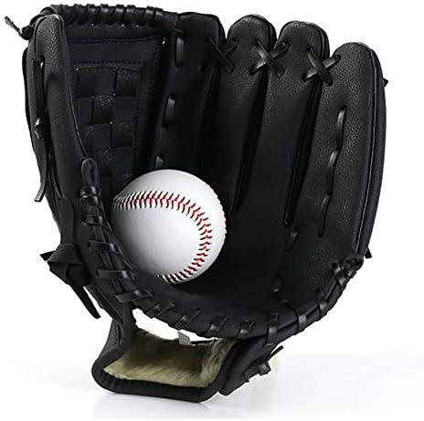 Cuero Guante de b/éisbol de Primera Calidad Deportes teeball Guante y Pelota de Softbol manopla Mitt para Ni/ños y J/óvenes