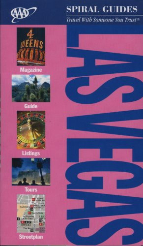 Las Vegas Spiral Guide (Aaa Spiral Guides) -