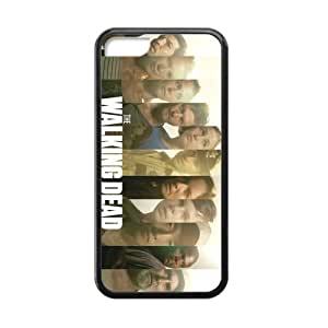 Hot TV The Walking Dead Rick Custom Cases for ipod touch 5 ipod touch 5 (Laser Technology)