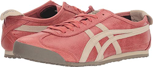 ce428e36474a2 Onitsuka Tiger by Asics Unisex Mexico 66 Red Brick Feather Grey 10 Women  +