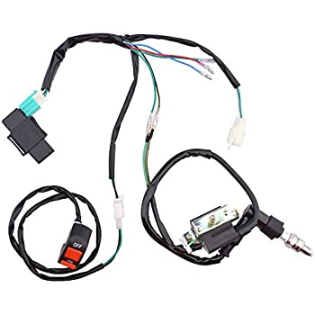 Amazon Com Zxtdr Wire Harness Wiring Loom Cdi Ignition Coil Spark