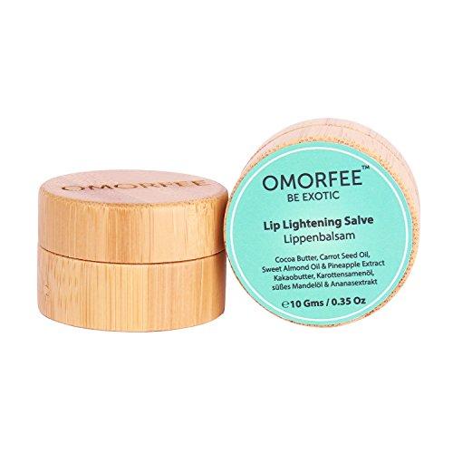 OMORFEE Organic Lip Lightening Salve with Organic Shea Bu...