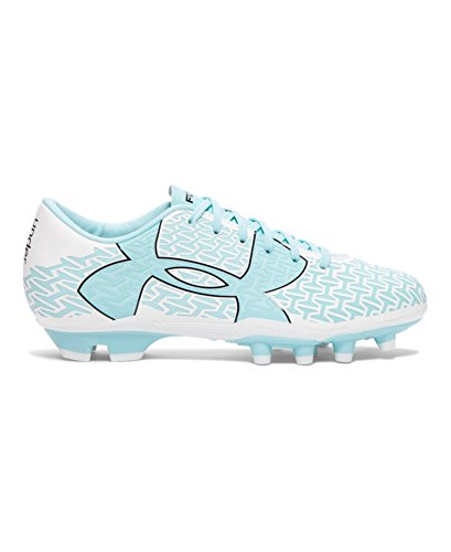 Under Armour Women's UA CF Force 2.0 FG White/Black/Veneer Athletic Shoe by Under Armour